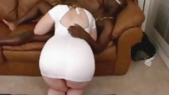 dirty Jiggly Butt Blonde Returns naked model