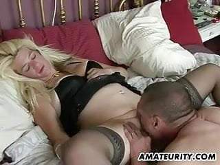 Naughty amateur porn Naughty amateur milf homemade action with creampie
