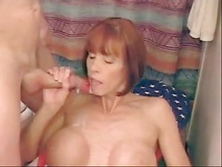 Camryn swallows cum - Perfect milf swallows cum