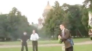 BRIDE GETS GB AFTER WEDDING