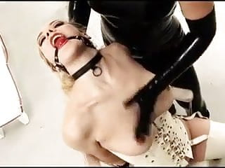 Mistress domination gallery - Slave girl gets dominated by mistress