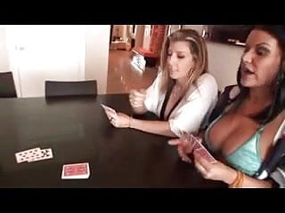 Strip poker cartoons style - Big boob strip poker ffm threesome