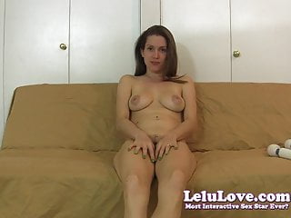 Pumpkin form flavor of love naked Lelu love-naked vibrator masturbation instruction