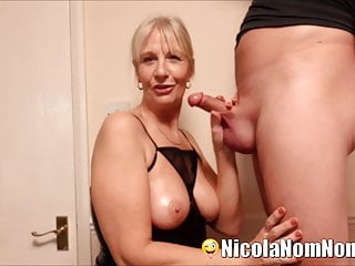 Neighbour sucked - Sucking young neighbours cock for my pervert husband