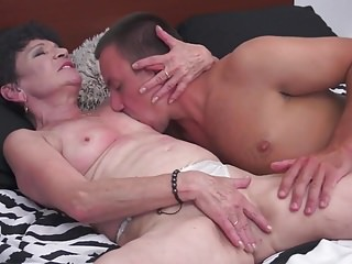 Hentai taboo mother video Taboo sex with mature mother and granny