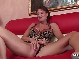 Black cocks fucking old German milf with perfect body fucked by black monster cock