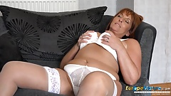 EuropeMaturE Hot Birthday Afterparty Masturbation