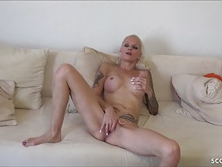 Mom caught fucking son - German mom caught by step-son masturbate and suprise fuck