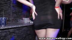 Hot real party with amateurs fucked
