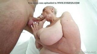 big boob granny with nice boobs