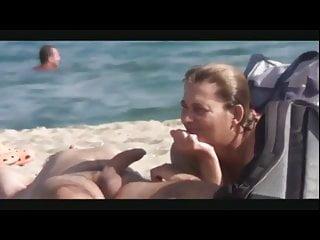 Nap porn Nap on a beach