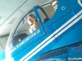 Airplane porn videos - Busty nikita valentin having fun ir airplane