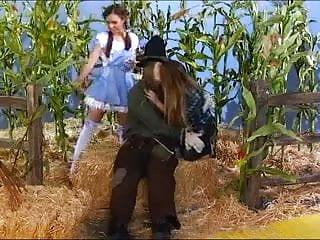 Scarecrow video porn Young blonde fucked by scarecrow