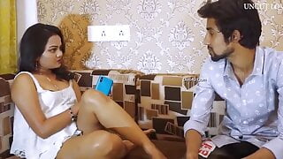 Desi Horny Bhabhi Has Threesome With Devar and Husband2