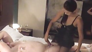 Tease and denial of Bob with Mistress Jaa