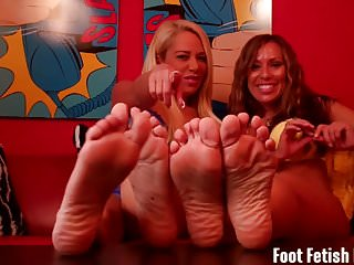 Mature womens feet We found out about your little fetish for womens feet