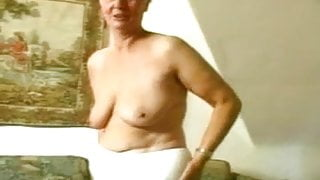 Old Granny Masturbating