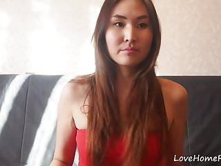 Very sexy clothes cheap Chinese girl in red clothes acting very naughty