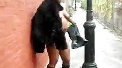 ebony in public