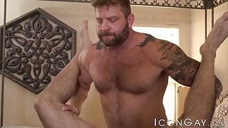Horny Billy Santoro gets his tight ass passionately rimmed
