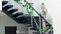 Passion-HD - Petite Piper Perri fucks on St-Patrick's Day