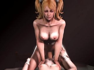 Naked manga characters - 3d video game characters having some fun part 3