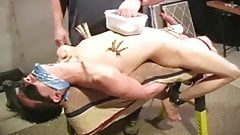 Boy Fastened, Gagged And Tortured