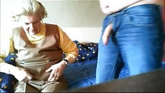 Beautiful Oma - anna 74 granny before fuck