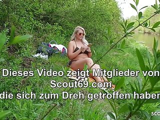 Public sex mp3 German milf caught young boy watch and help with public sex