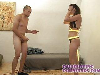 Olivia williams bikini - Raver girl bikini ballbusting with olivia wilder