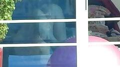 window voyeur nice legs upskirt