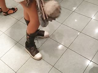 Slutty adult clothing at malls - Super hot slutty teen princess at the mall