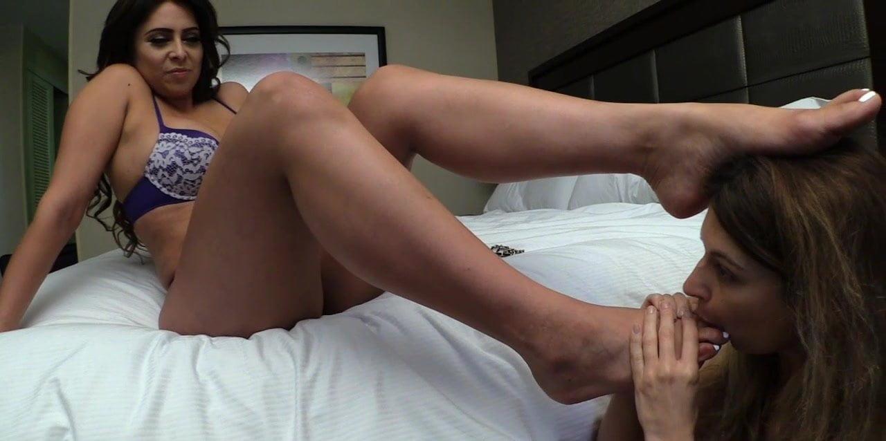 Brazil Lesbian Foot Slave