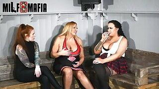 British sluts sucking BIG COCK - MILF MAFIA