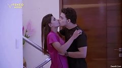 Desi wife and her lover watching her husband fucking