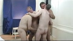 Mature group sex