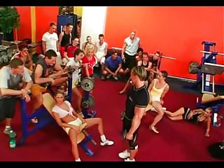 Classic bisexual orgy Bisexual orgy at the gym part 1