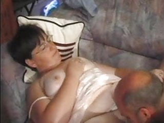 Best pornstars awards - Granny award 11 bbw mature with a man on a sofa
