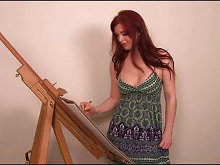 Femdom in art - Art lessons joi babe
