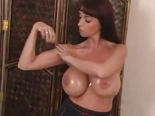 Latina balloon tits Balloon boobs boxing 2