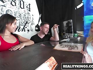 Money talks waiting on the dick Realitykings - money talks - adrian maya scarlett sage tony