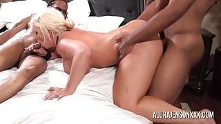 ALURA JENSON GANGBANGED BY 6 BLACK COCKS AT ONCE