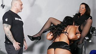 Couple counseling in a BDSM club