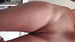 Sexy wife with shaved lips