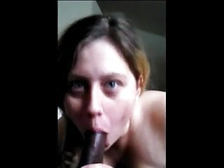 Cell phone camera upskirt - Interracial blowjob on cell phone