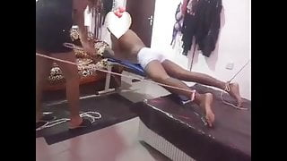 Sri Lankan Femdom Mistress Caning