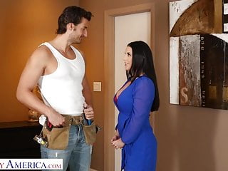 Sex america video - Naughty america -angela white surprises husbands friend