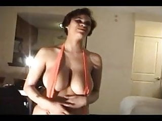 Bikini beatch - Heavy hangers in slingshot swimsuit- hot girl big tits