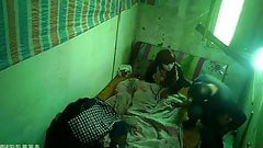 Younger Asian Prostitute Bareback With Older