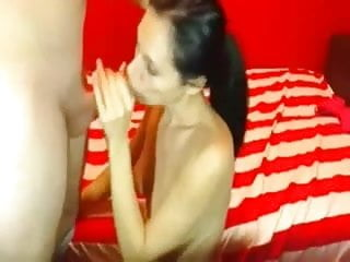 Cock own suck video Wife sucks cock before getting owned anally